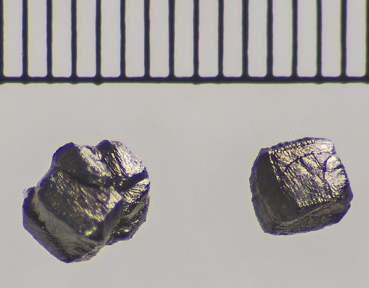 Diamond Grains from Canyon Diablo Meteorite