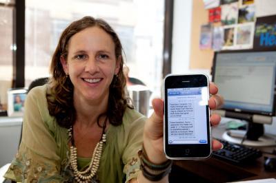 Text2Quit Smartphone Message