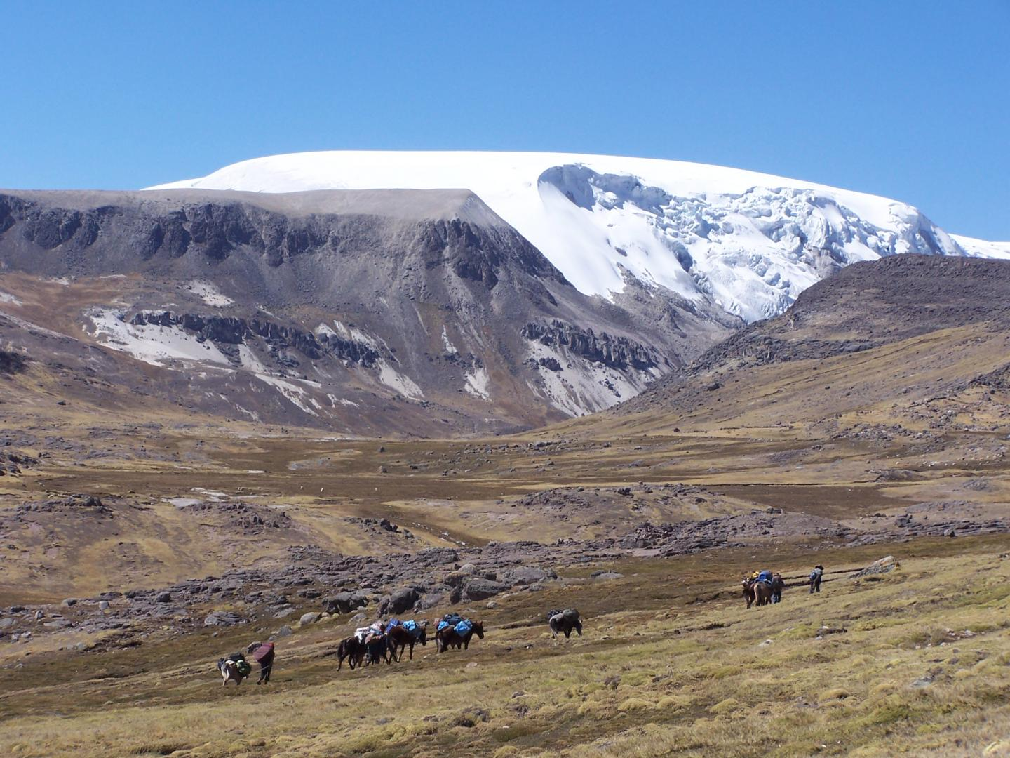 North Dome of the Quelccaya Ice Cap (1 of 2)