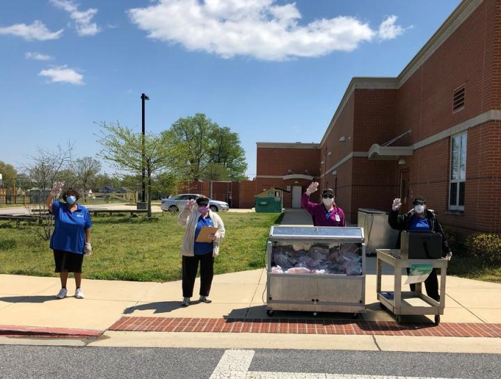Anne Arundel COVID 19 Meal Service