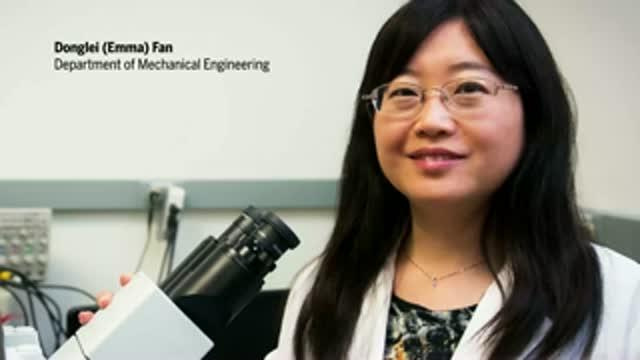 Texas Engineers Build World's Smallest, Fastest Nanomotor (1 of 2)