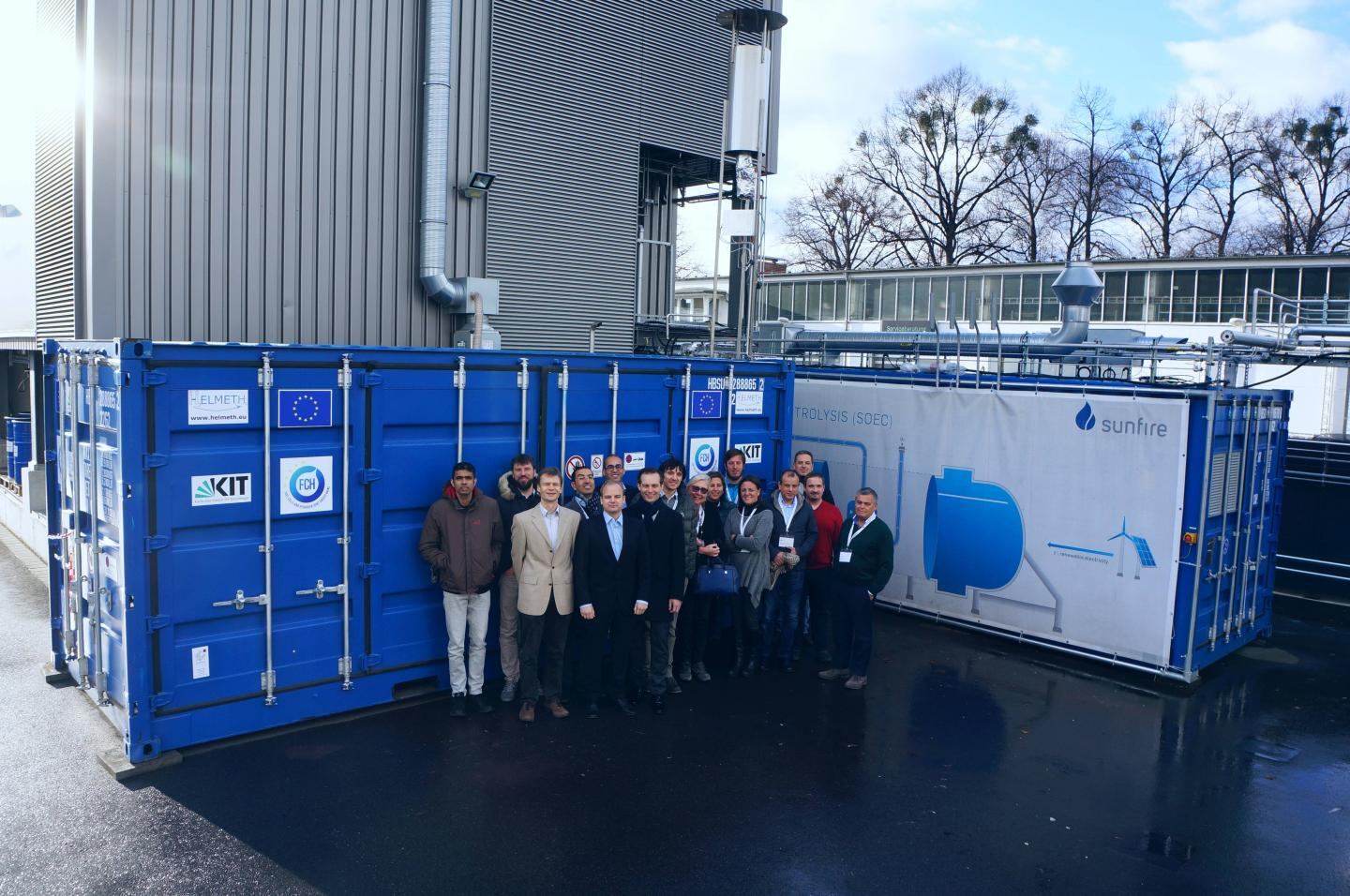 Power-to-Gas with High Efficiency