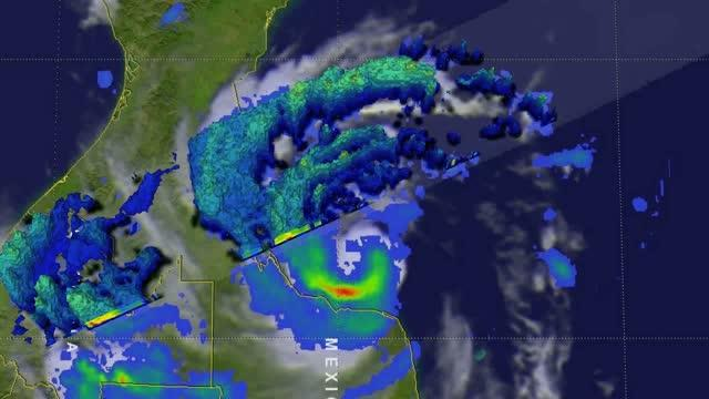 GPM Video of Franklin