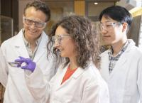 All 3 Researchers from Left to Right: Dr Ross Hatton, Dr Silva Varagnolo and Dr Jaemin Lee