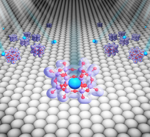 Gas-trapping nanocages