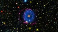 The Blue Ring Nebula