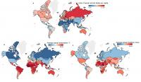 World Map of Drinking and Climate Patterns