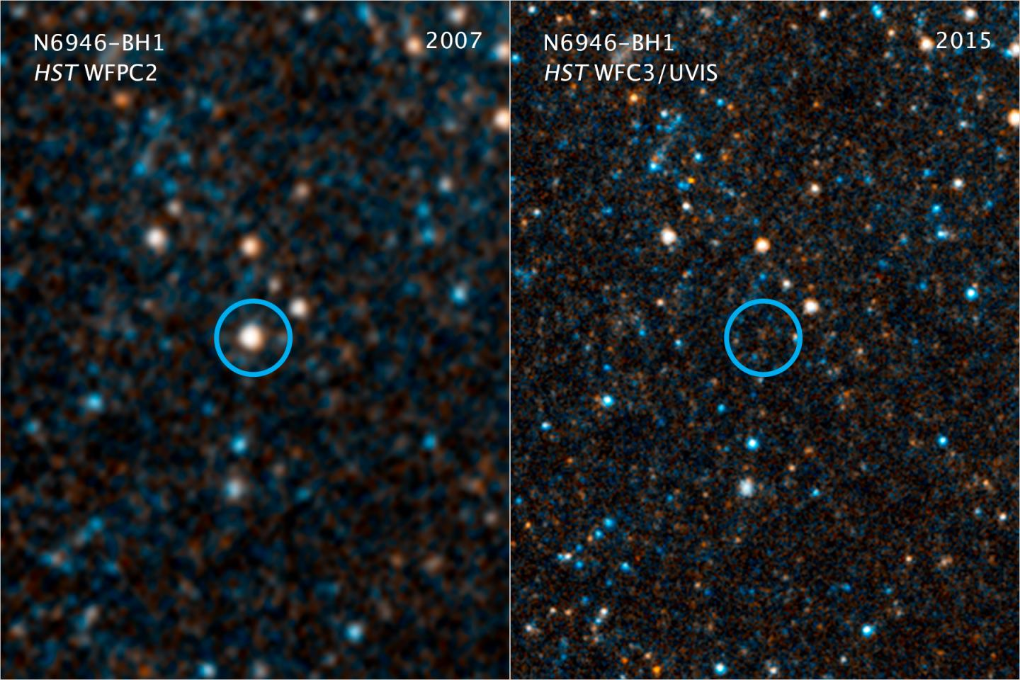 Two Views of a Dying Star