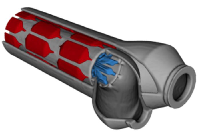 Tube-in-tube heat exchanger