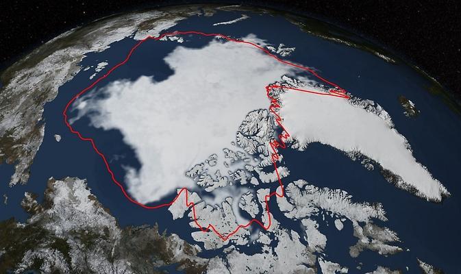 Arctic Sea Ice Hit Its Annual Minimum on Sept. 17, 2014
