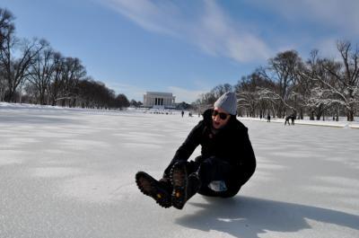 Frozen Reflecting Pool