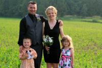 Amy Mills and Family