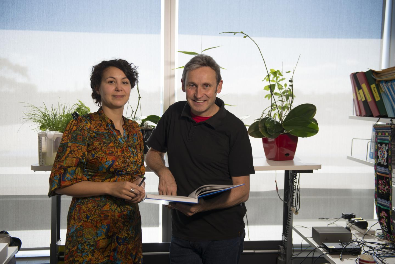 Dr Najoua Lalaoui and Professor John Silke, Walter and Eliza Hall Institute