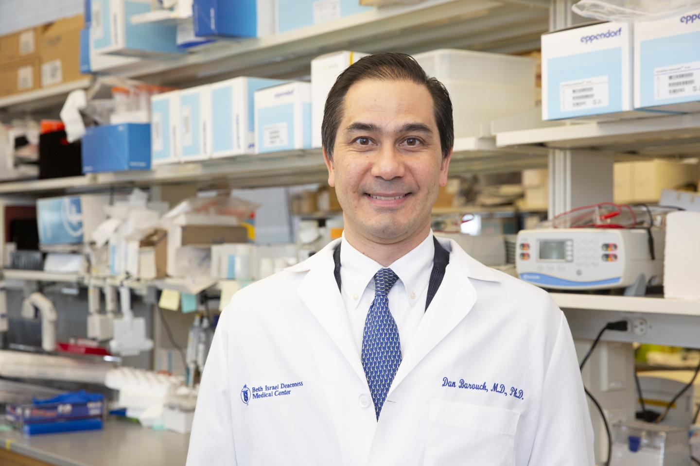 Dan H. Barouch, MD, PhD, Director of the Center for Virology and Vaccine Research at BIDMC