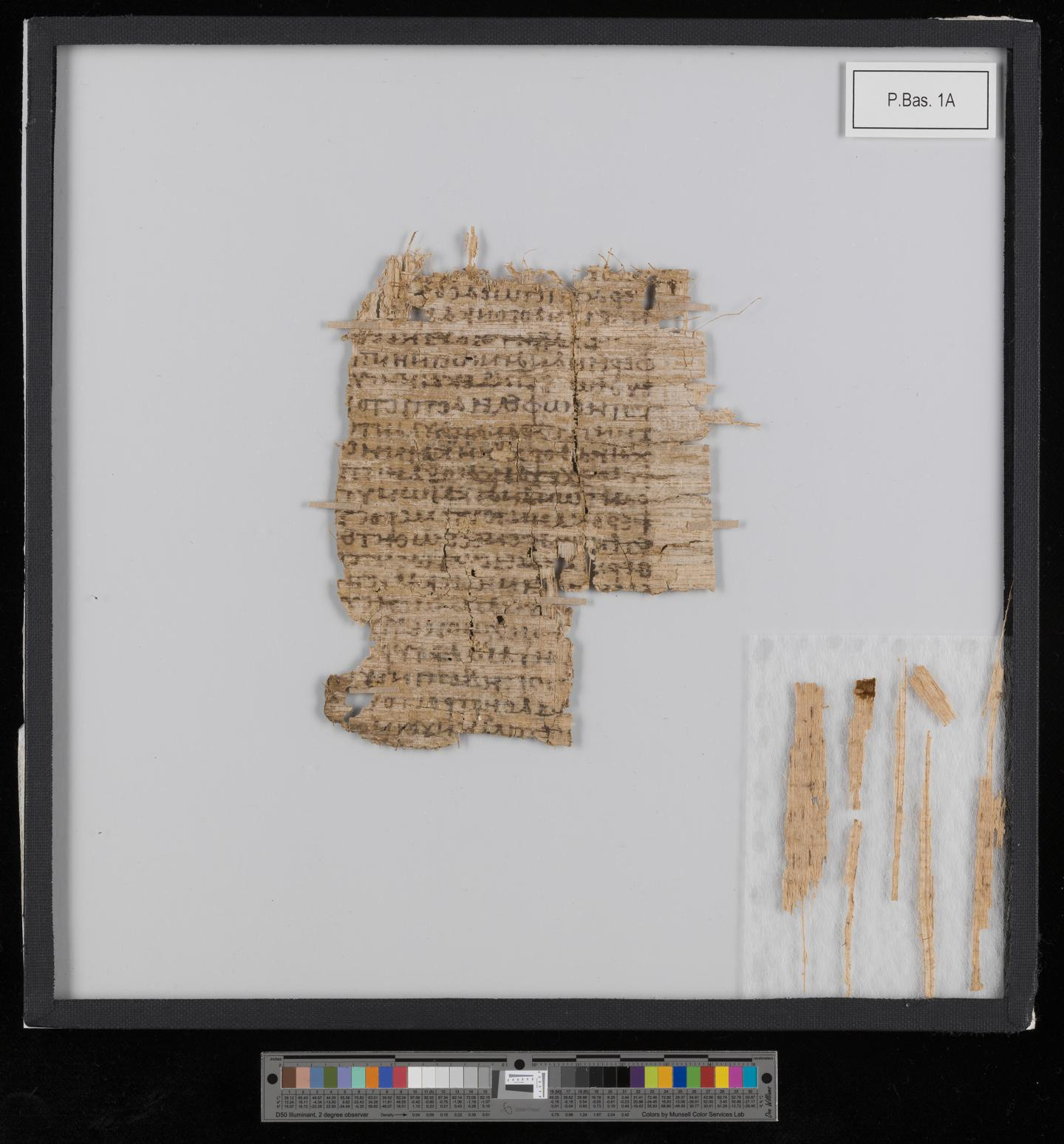 Mystery of the Basel Papyrus Solved (1 of 2)