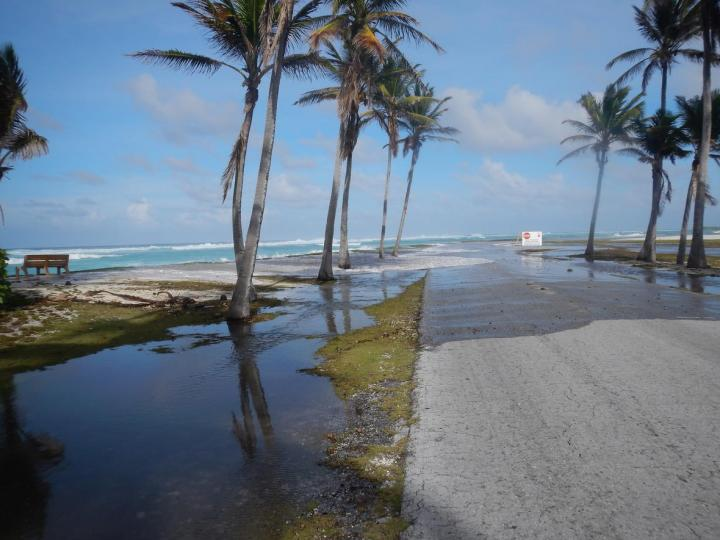 Wave-driven Flooding and Overwash on Roi-Namur Atoll