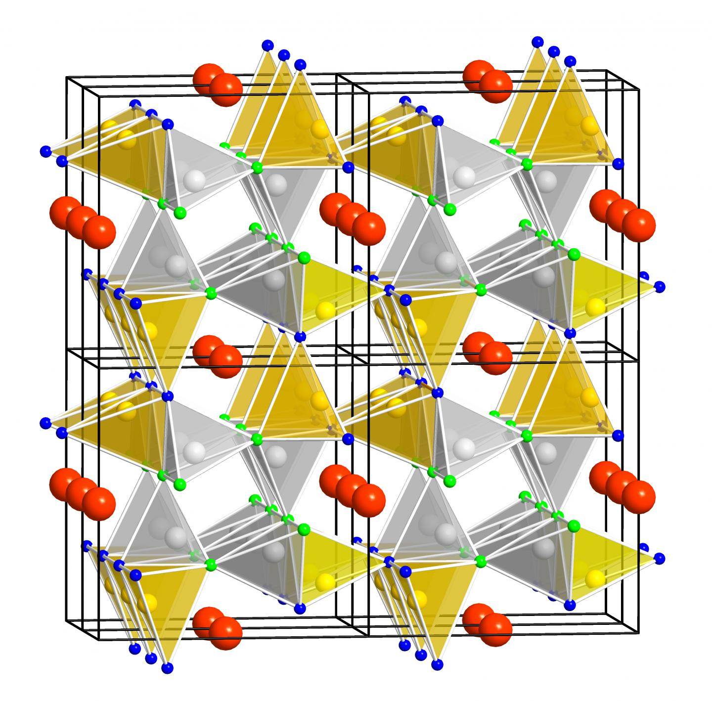 Crystal Structure of the SALON Phosphor