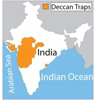Extent of Deccan Traps