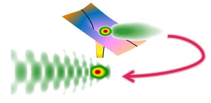Electron dynamics holography