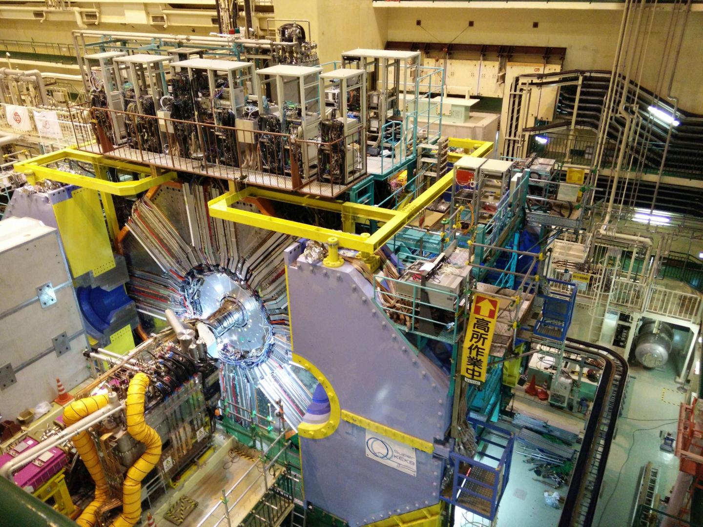The Belle II Particle Accelerator Experiment Is Searching for the Origins of the Universe