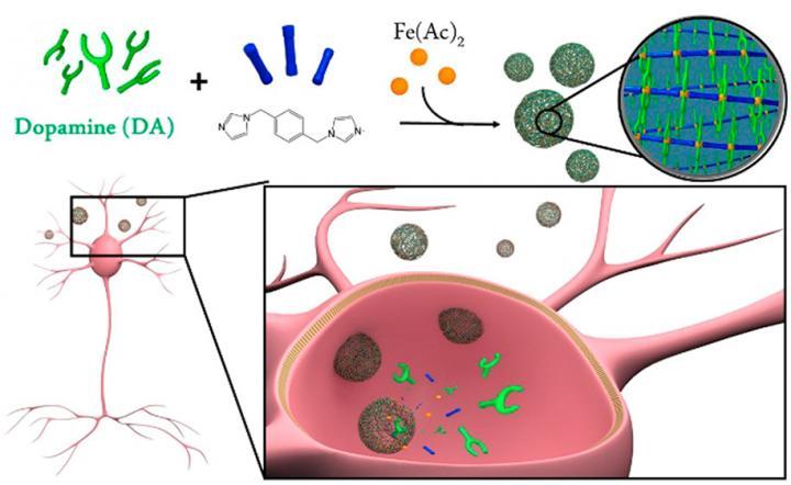 Nanoencapsulation of dopamine