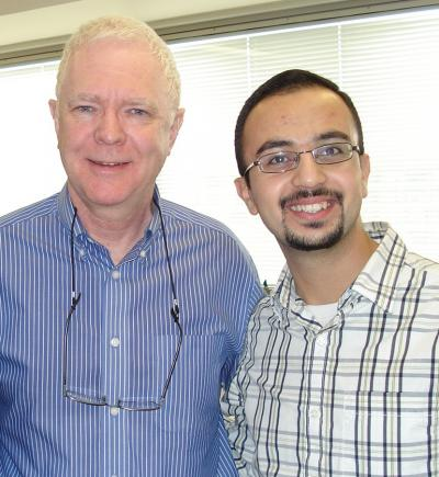 Dr. Tony Pawson and Mohamed Soliman