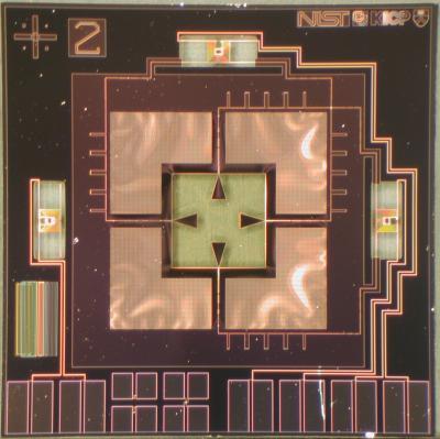 Prototype NIST Detector for B-mode Polarization