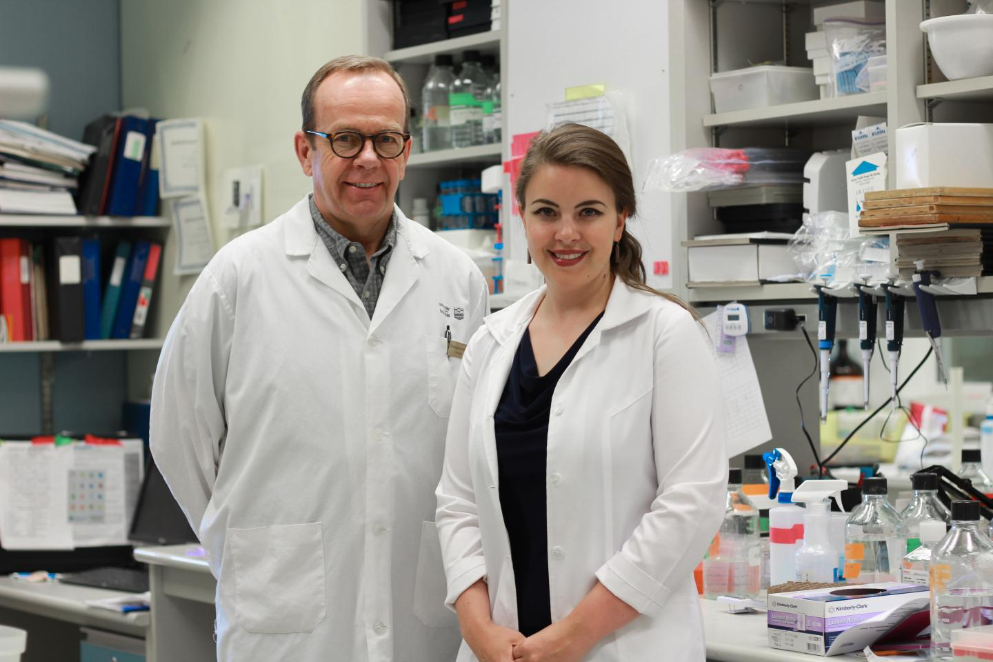 Christopher Power and Brienne McKenzie, University of Alberta Faculty of Medicine & Dentistry