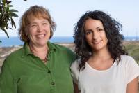 Kathy Jones and Conchi Estarás, Salk Institute