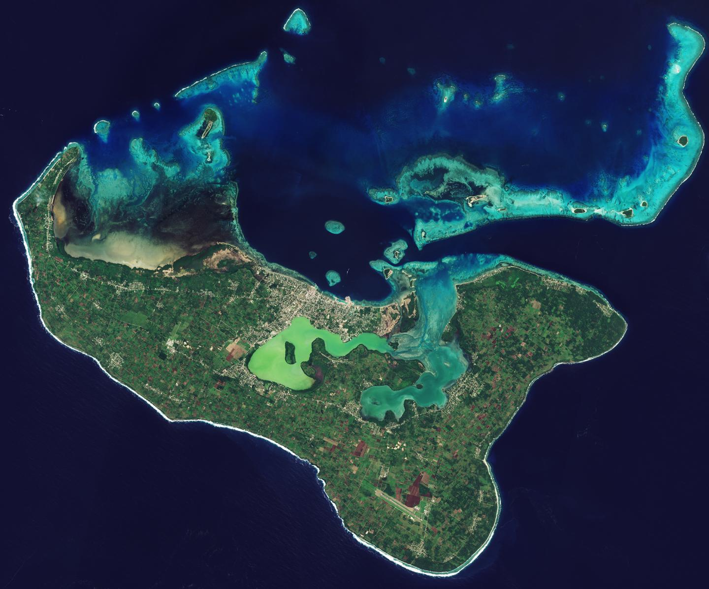 Tonga from Space
