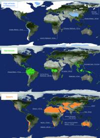 World Map Ecologies