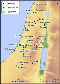 Bronze and Iron Age Archaeobotanical Sites in Israel