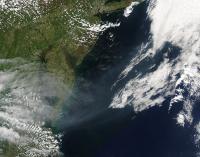 Aqua Image of Ft. McMurray Fire's Smoke