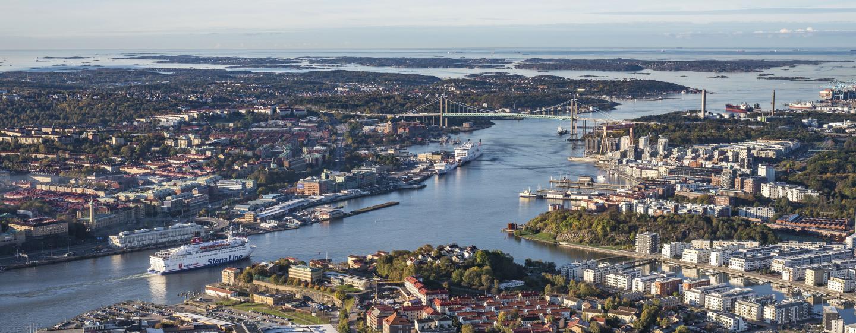 Gota river estuary, Gothenburg, Sweden