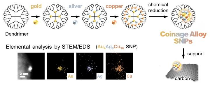 Figure 1. Syhtnesis and screening of sub-nanoparticles (SNPs)
