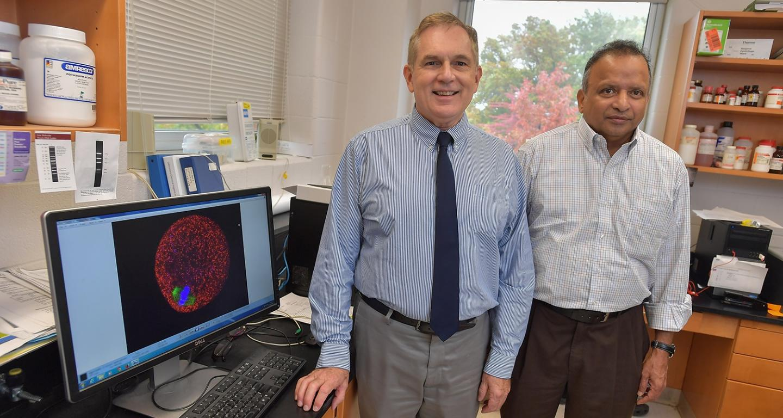 Doug Kline and Srinivasan Vijayaraghavan, Kent State University