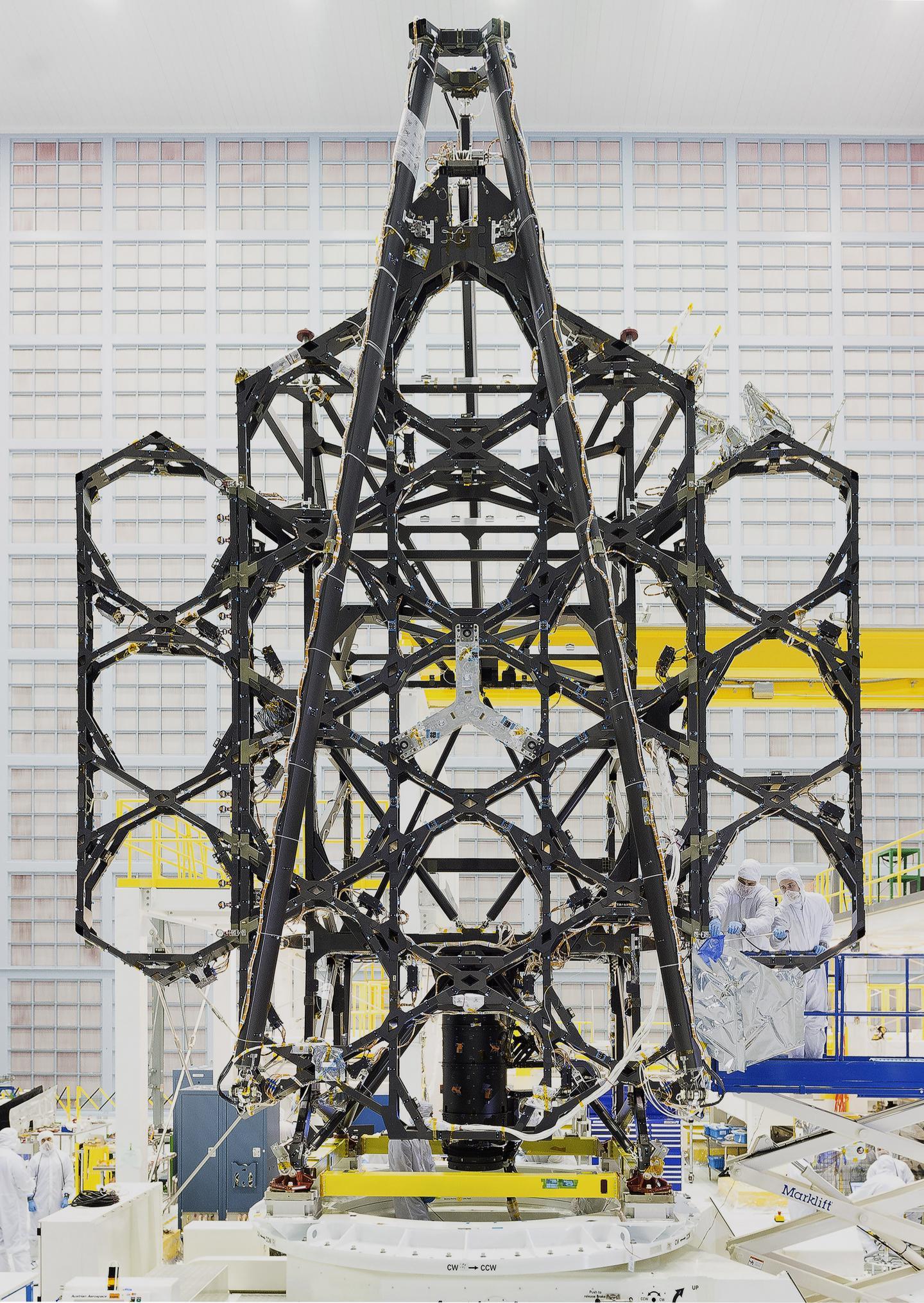 Webb Telescope Wing Deployment