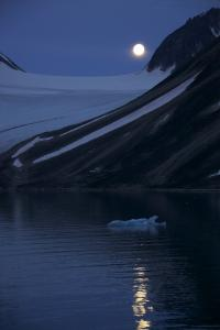 Arctic Moon Rise