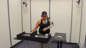 Participant performs functional test