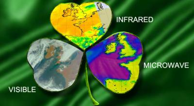 A 3-Leaf Clover of NASA's AIRS Satellite Imagery