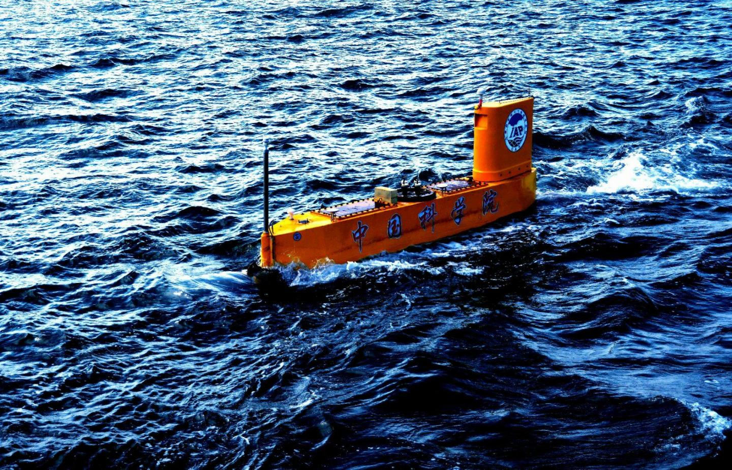 Unmanned Semi-Submersible Vehicle
