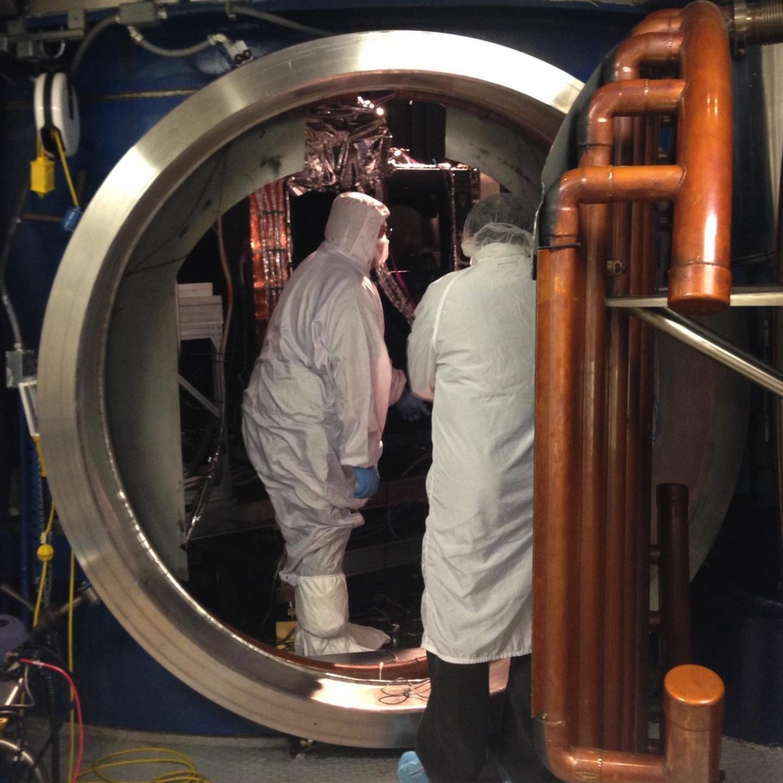 Door of a Thermal Vacuum Chamber