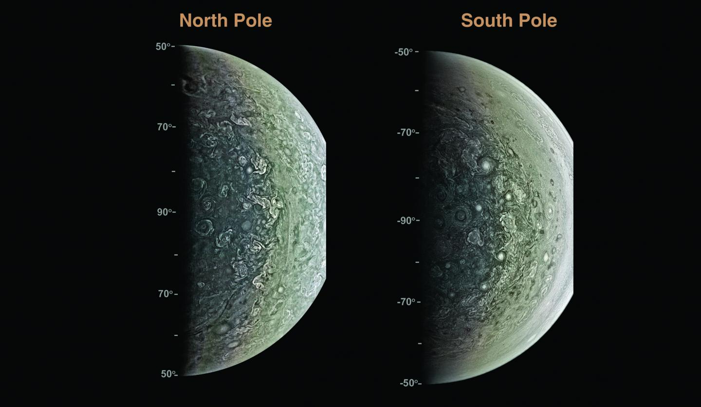 First Results from Juno Show Cyclones and Massive Magnetism (2 of 2)