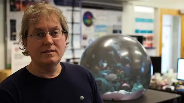 Spherical Virtual Reality Display