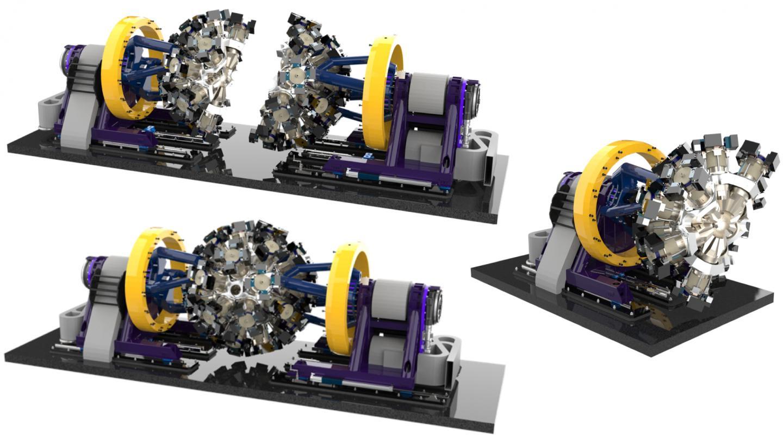 Renderings of GRETA Full Detector Array
