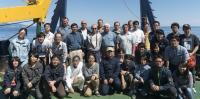 The Russia-Japan Collaborative Team on the Research Vessel Professor Multanovskiy