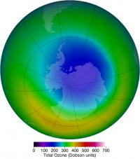 Ozone Hole in October 2013