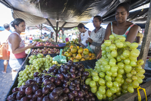 Food diversity is available in many markets