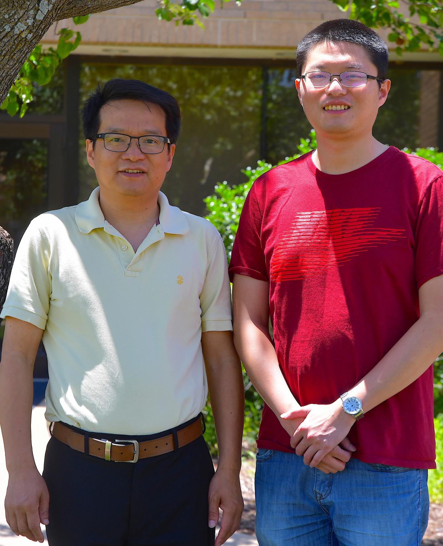 Dr. Xiuren Zhang and Dr. Zhiye Wang, Texas A&M AgriLife Communications