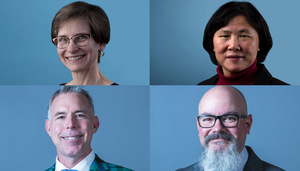 Elizabeth Hunke, Baolian Cheng, David A. Smith, and Blas Uberuaga join a prestigious fellowship